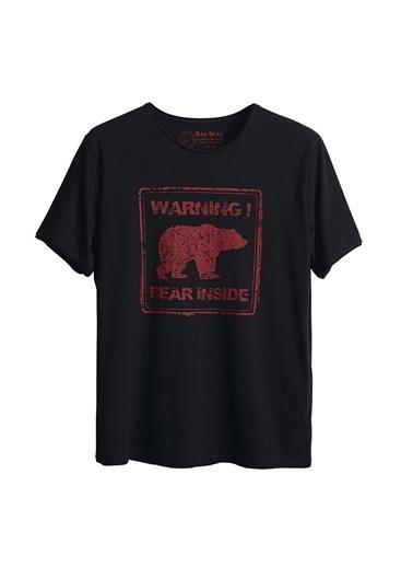 Bad Bear Bad Bear Bisiklet Yaka Lacivert Erkek T-Shirt Lacivert